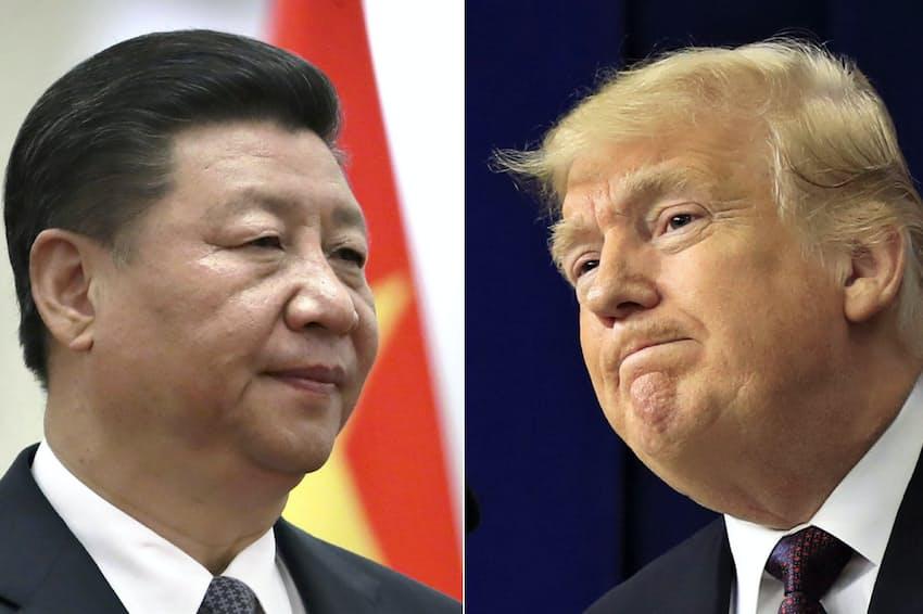 米中首脳会談の結果について両国の発表には大きな食い違いがあった(写真は習近平中国国家主席とトランプ米大統領)=AP