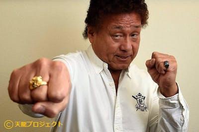 多くのファンに愛された元プロレスラーの天龍源一郎氏=天龍プロジェクト提供