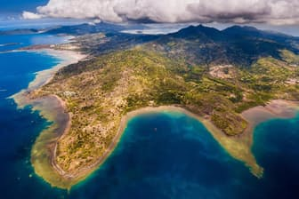 アフリカ大陸の東に浮かぶ仏領マヨット島(Photograph by Hemis/Alamy Stock Photo)