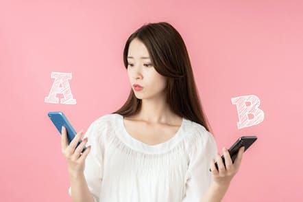 携帯電話料金で「分離プラン」が標準になろうとしている(写真はイメージ=PIXTA)