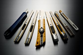 カッターナイフとその周辺機器の最新情報を紹介する