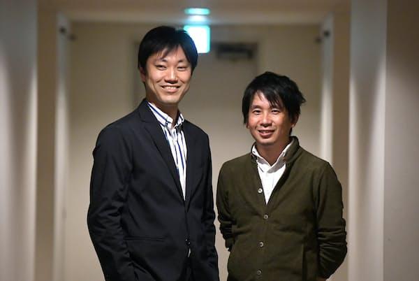 東畑開人氏(右)と石川善樹氏