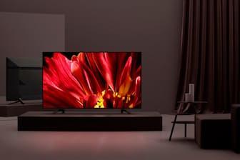 ソニーのハイエンド液晶テレビ「BRAVIA Z9F」(画面ははめこみ合成)