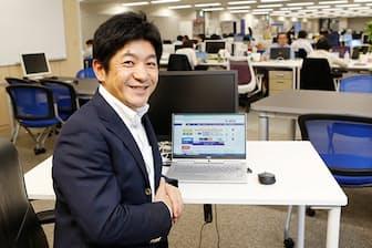ジャパンネット銀行の田鎖智人社長