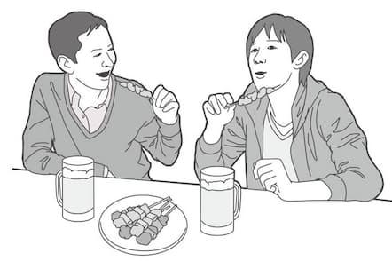 20代後半、年収300万円以上400万円未満の男性の消費生活の実態に迫る(イラスト 木山綾子)