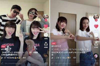 「TikTok」 中国のメディア企業Bytedanceが提供する動画共有プラットフォーム。日本では2017年からサービス開始した。18年7月には日本国内での動画再生回数が130億回を超えている。TikTokで投稿できる動画の長さは15秒程度