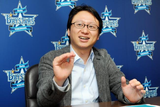 横浜DeNAベイスターズ事業本部本部長の木村洋太氏