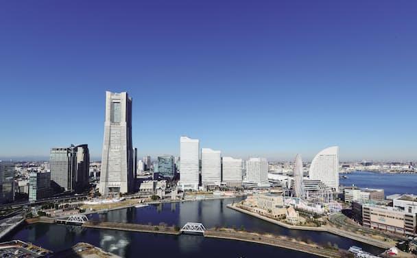 スマートシティ化する横浜市