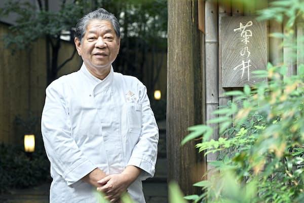 『ミシュランガイド京都・大阪+鳥取2019』で京都本店が三つ星を獲得した菊の井の村田吉弘代表取締役