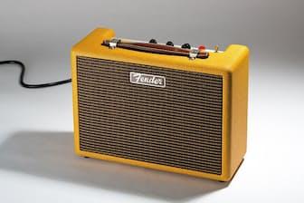 フェンダーのBluetoothスピーカー「MONTEREY TWEED」(実勢価格4万8000円前後)。フェンダーのギターアンプのようなデザインだ