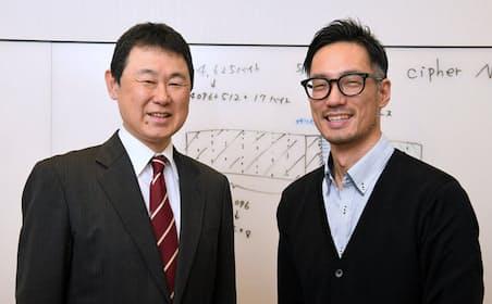 記事を執筆したライターの森川滋之氏(写真左)と、ラックの関宏介氏(サイバーセキュリティ事業部 サイバー救急センター 担当部長、写真右)