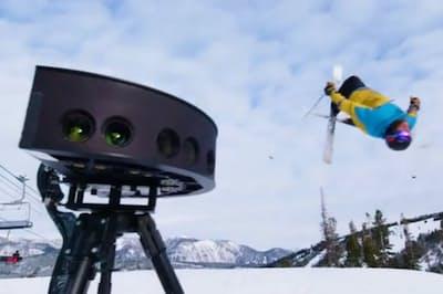 インテルは2018年の平昌五輪でVR映像による中継を試みた(同社のプレス向け動画から)