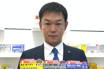 武田コンシューマーヘルスケアの飯淵陽介さん