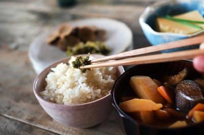 和食では塩の使い方がモノを言う