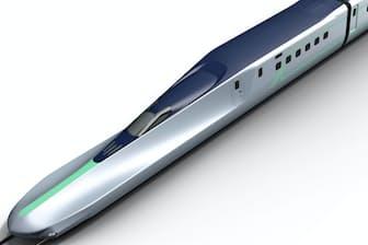 次世代新幹線「アルファエックス」のイメージ図