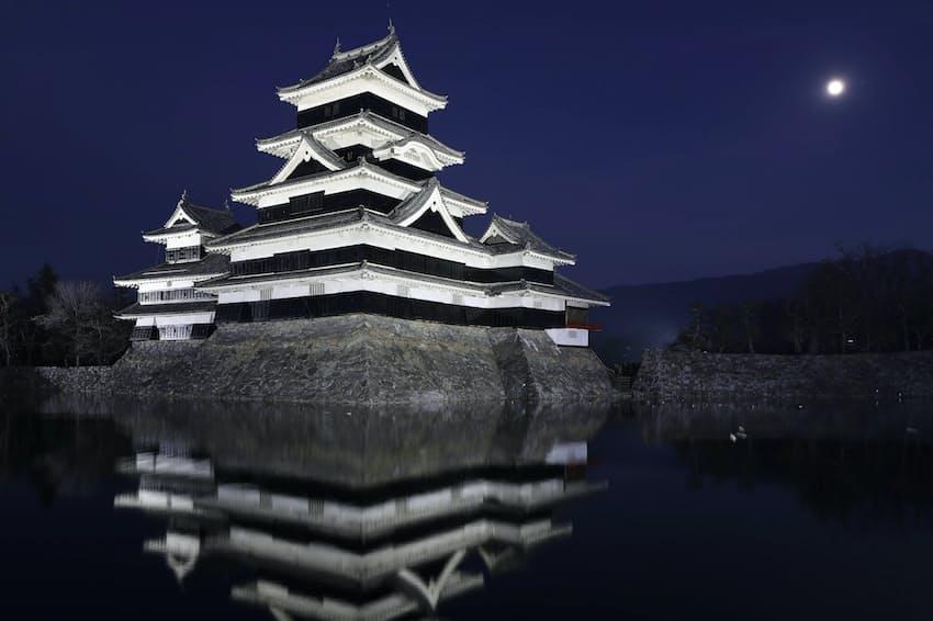 1位の松本城