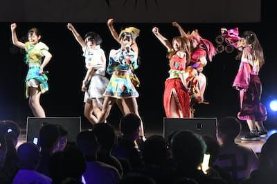 「神使轟く、激情の如く。」のライブは等身大の気持ちを激しくファンにぶつける(東京・港)