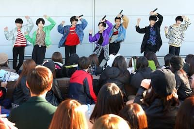 「BATTLE STREET」はメンバー間で競い合ったパフォーマンスでファンを魅了(東京・港)