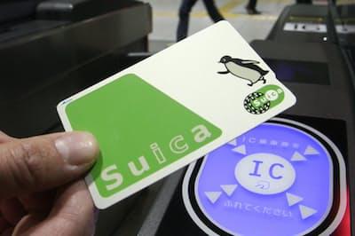 SuicaはJR東系のクレジット「ビューカード」との兼用が有利だ