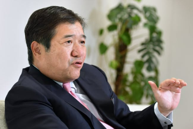 三井物産の安永竜夫社長