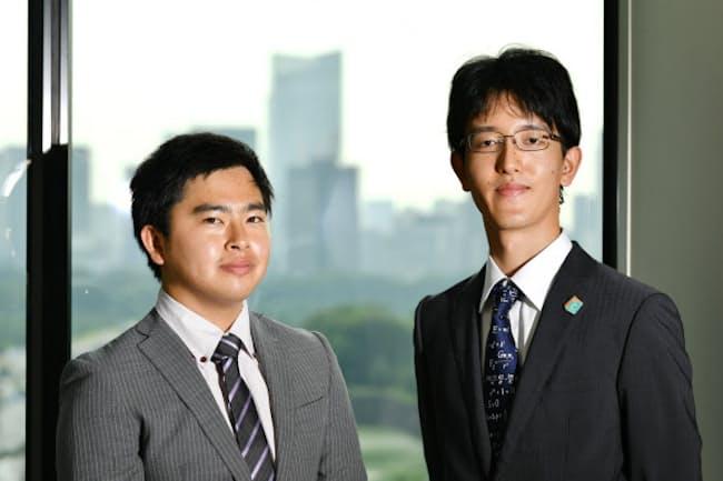 米マサチューセッツ工科大学に留学した前田智大さん(左)と副島智大さん