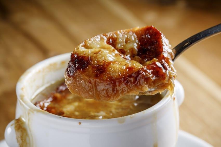 「noura」の「オニオングラタンスープ」