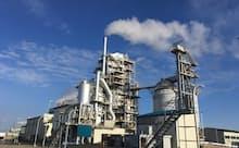 ・循環型社会の実現につながる木質バイオマス事業を展開(八戸バイオマス発電所)