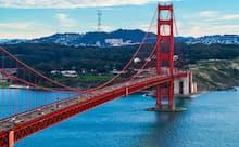米サンフランシスコの象徴ともいわれるゴールデンゲートブリッジ