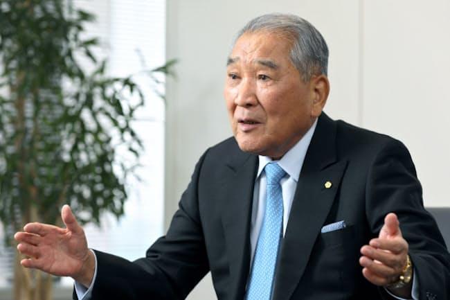 カプコンの辻本憲三会長兼CEO
