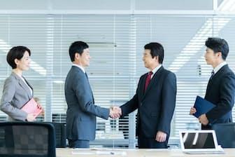 M&A(合併・買収)の増加などで法務人材の需要は伸びている。写真はイメージ=PIXTA