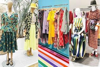 春夏ファッションは色や柄を自在にミックスして楽しむ