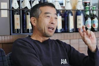 熊沢酒造 6代目熊沢茂吉社長