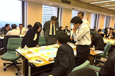 東京海上グループは各社の部長や支店長向けに研修を開催