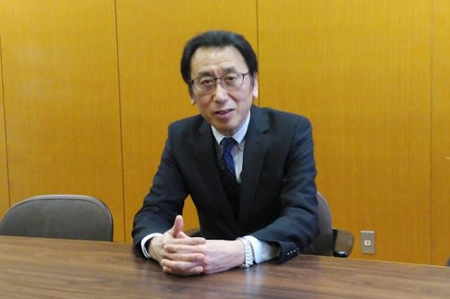 静岡県立浜松北高校の松本直己校長