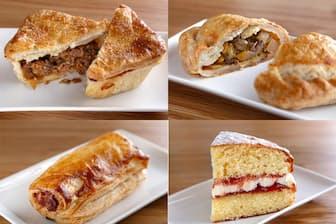 「マルベリー マナー」のパイやスイーツ各種