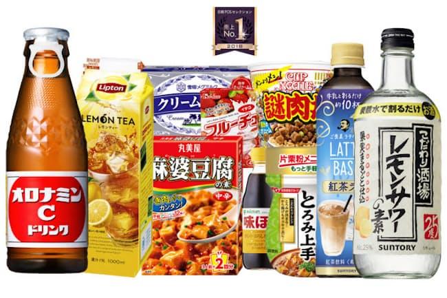 平成のコンビニやスーパー、ドラッグストアの商品棚を彩った品々