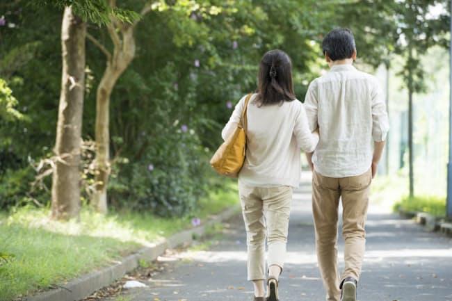 「ネットお見合い」で北村さんがパートナー探しを始めたのは、50歳を過ぎてからだった。写真はイメージ=PIXTA