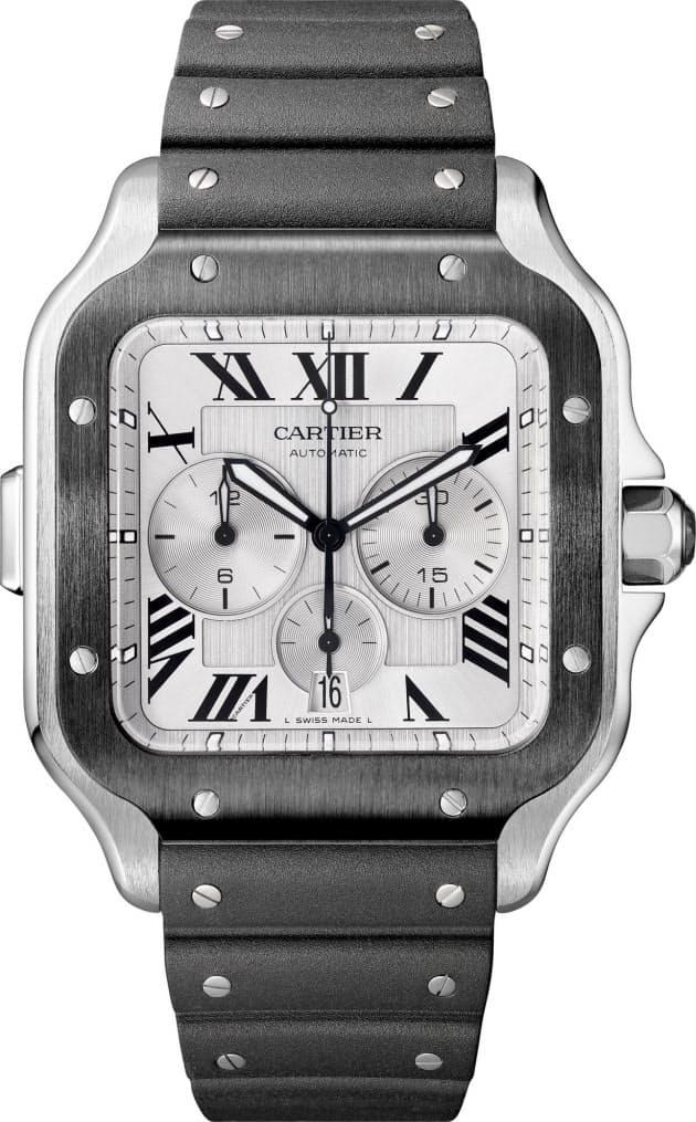 check out 3a1f7 75629 カルティエ、電池交換6年不要の新作クオーツ式腕時計|Men's ...