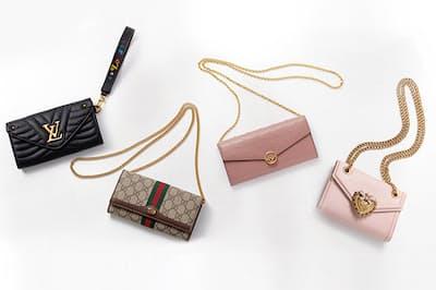 長財布と同じくらいの価格帯で展開されているのも、魅力のひとつ。(NikkeiLUXEより)
