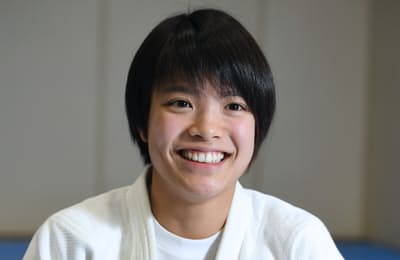 柔道女子52キロ級の阿部詩選手