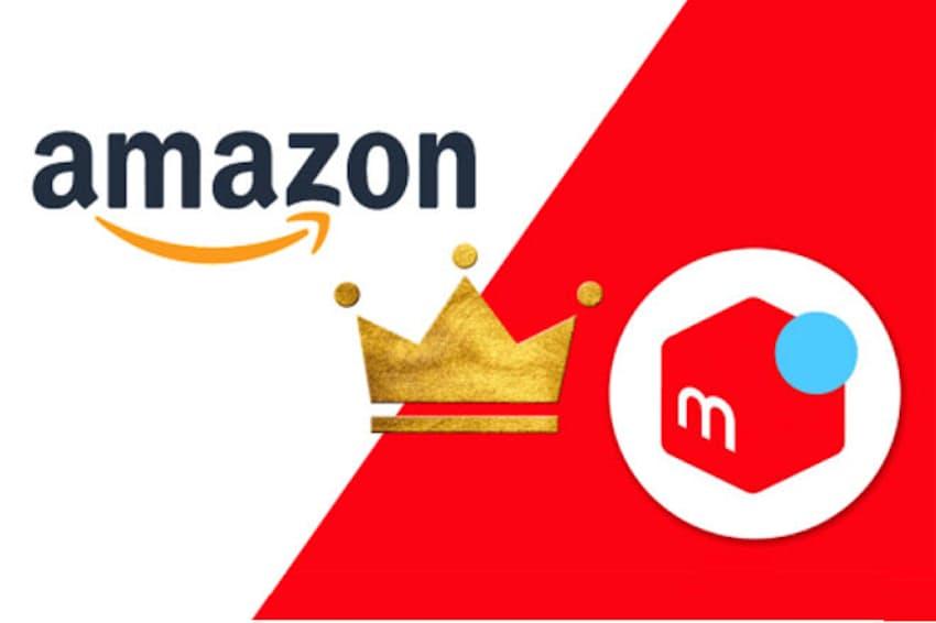 2018年は楽天からアマゾン、ヤフオクからメルカリへの逆転劇が起こった