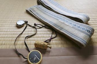 11代目桂文治さんが先代から譲り受けた形見の品