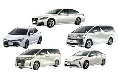 「KINTO ONE」はプリウス、カローラスポーツ、アルファード、ヴェルファイア、クラウンの5車種から選ぶ。秋以降には対象車種を拡大する方針だ