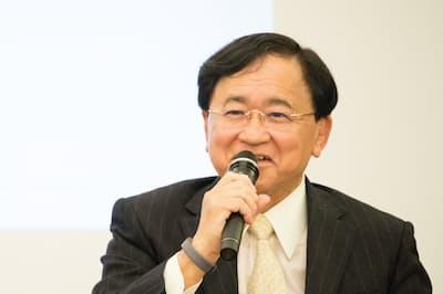 三菱ケミカルホールディングスの小林喜光会長