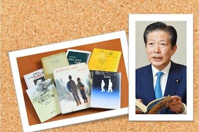 山口那津男氏と座右の書・愛読書