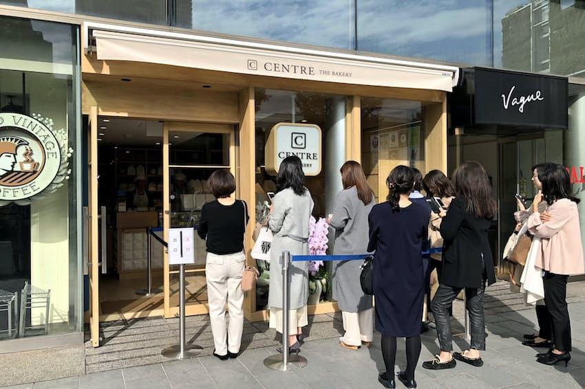 18年11月にオープンした「セントル ザ・ベーカリー青山店」(東京都渋谷区、パン愛好家サイト「パンめぐ」から転載)
