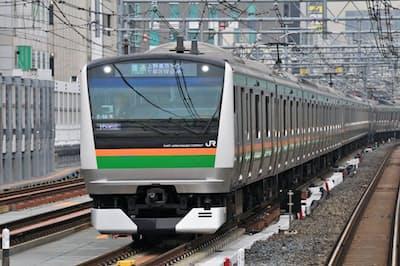 羽田空港アクセス線は「上野東京ライン」の電車が羽田空港に乗り入れる計画だ(JR東日本提供)