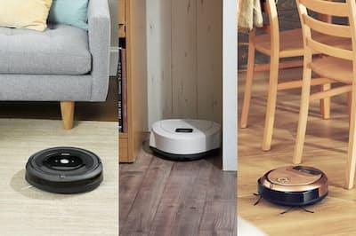 最新ロボット掃除機3機種を紹介する