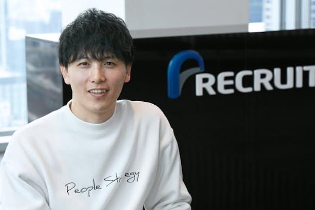 リクルート人事戦略部部長の中村駿介氏
