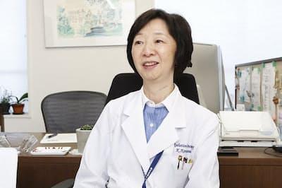 放射線腫瘍医で2017年に乳がんになった東京女子医科大学教授の唐澤久美子さん